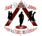 just steppin logo